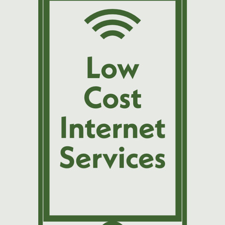 Low Cost Internet Services