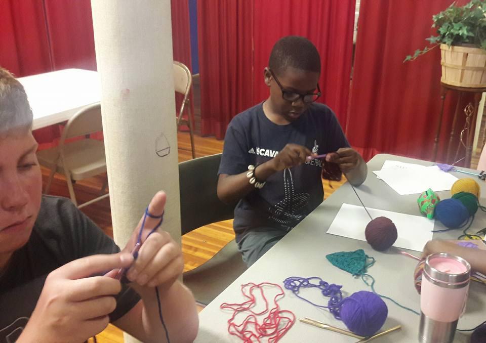 crochet class 3