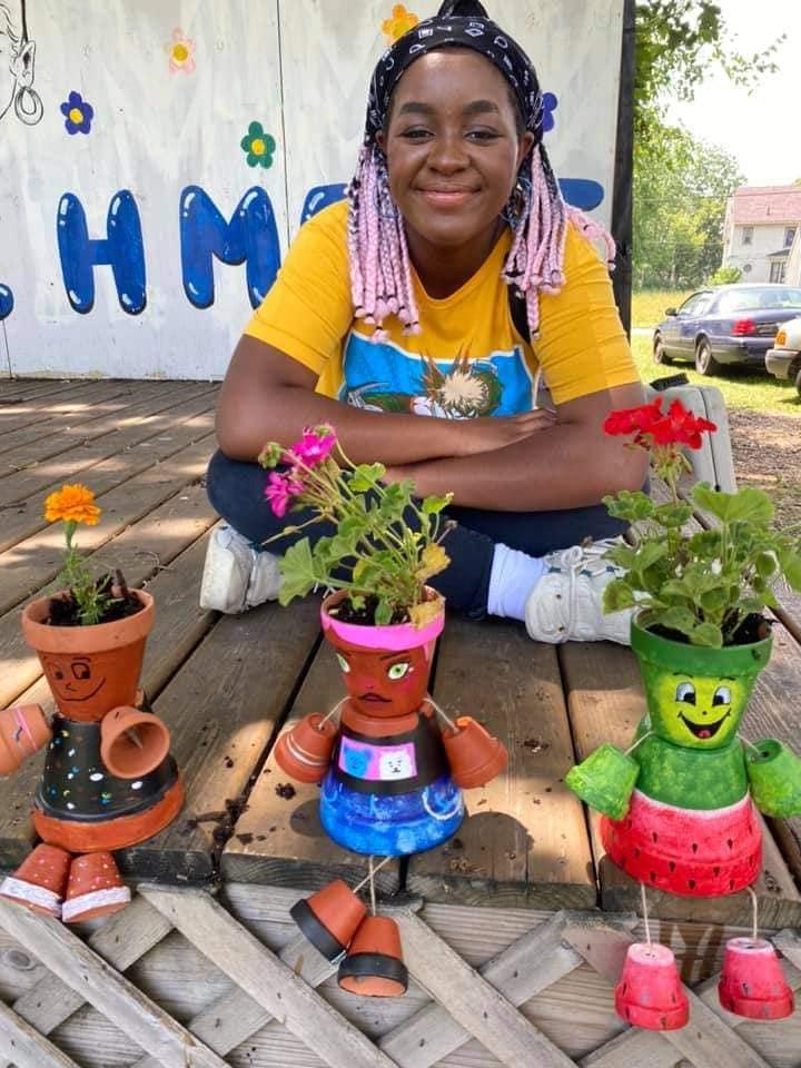 Garden Pot Art