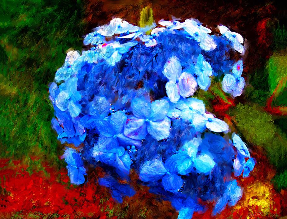 clone blue flowers imp smery rnd satt si