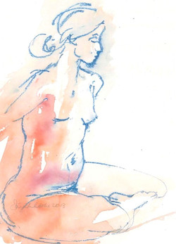 Pink and Blue torso