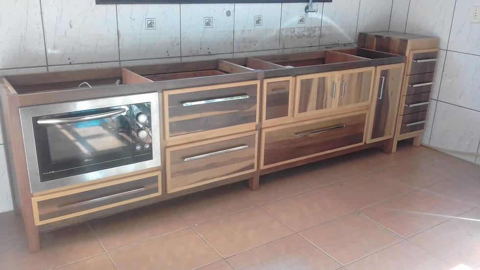 Armário para cozinha - PROJETO SOB MEDIDA