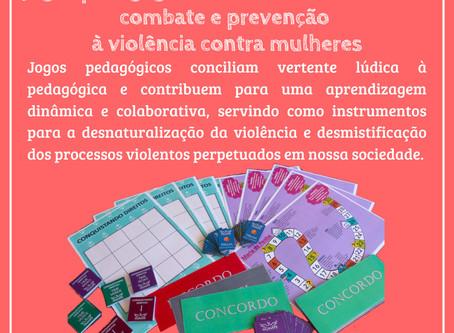 Jogos pedagógicos como instrumentos de combate e prevenção à violência contra as mulheres