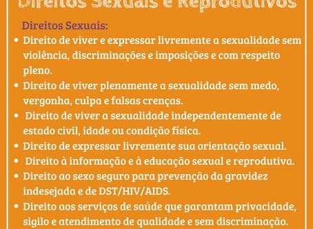 QUARENTENA INFORMATIVA - Direitos sexuais e reprodutivos das mulheres: poder de escolha e autonomia