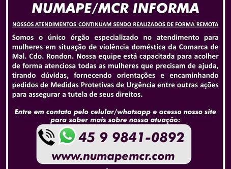 NUMAPE/MCR INFORMA