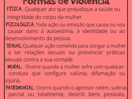 A Violência Doméstica e suas várias formas