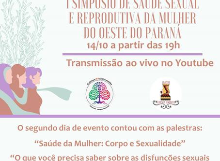 I Simpósio de Saúde Sexual e Reprodutiva da Mulher do Oeste do Paraná - 2º Dia