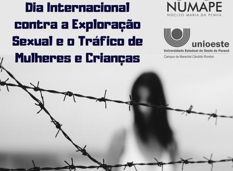 23 de setembro - Dia Internacional contra a Exploração Sexual e o Tráfico de Mulheres e Crianças