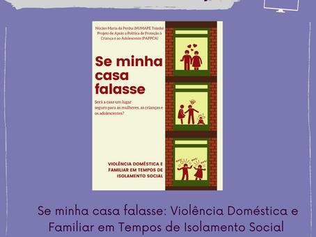 [Circuito NUMAPE] Será a casa um lugar seguro p/ as mulheres, p/ as crianças e p/ os adolescentes?