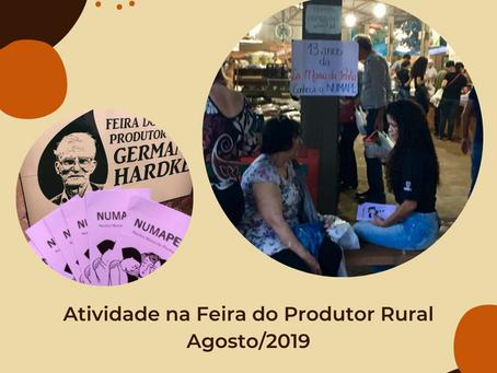 [Memórias do NUMAPE] Atividade na Feira do Produtor Rural - Agosto/2019