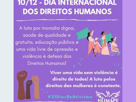 10/12 Dia Internacional dos Direitos Humanos