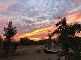 Sonnenuntergang am Herzberg
