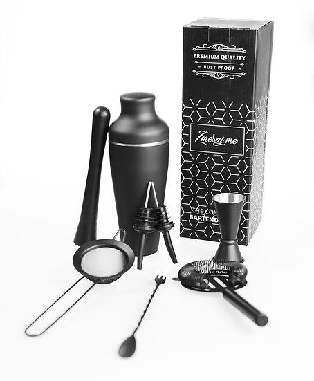 Osemdelni set - Fancy black