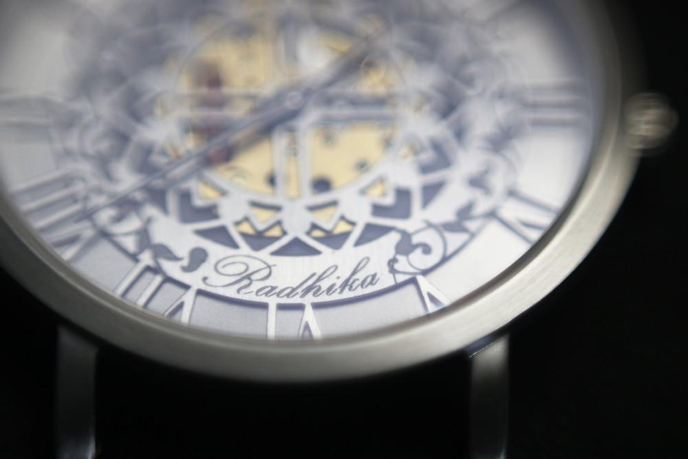 Watch dial, watch movement
