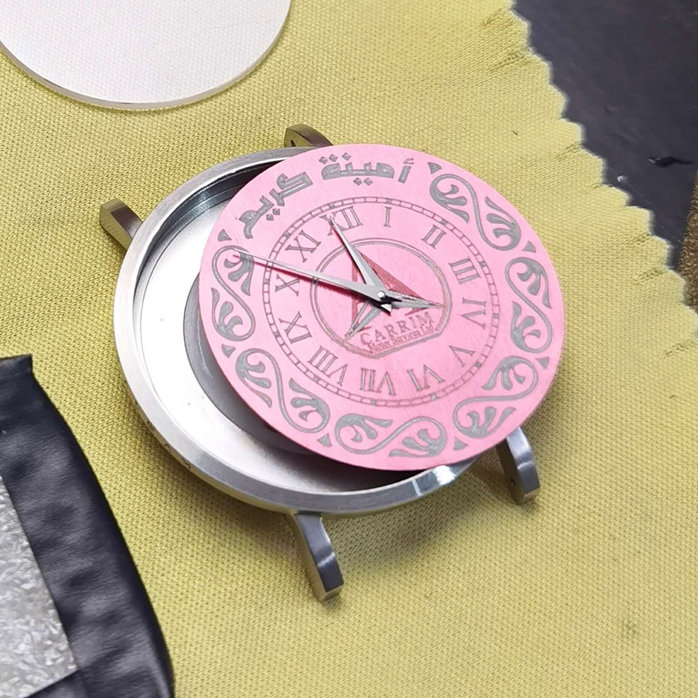 Dial, Watch Case, Watch Hands and Watch Glass Cover