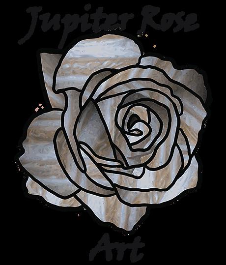 rose in jupiter's colours