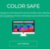 A screenshot of the Color Safe website.