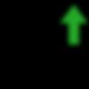 Icon denoting increased ad revenue.