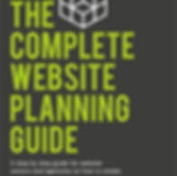The'complete website planning guide' book cover.