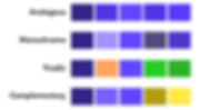 An example colour palette.