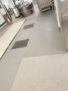 Hospital Kitchen Resin Coatings