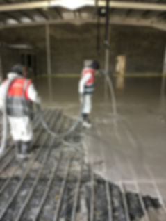 Calcium Sulphate Screed Underfloor Heating Scotland
