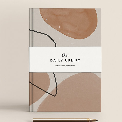 The Daily Uplift Peace Notebook