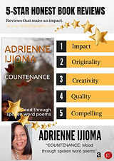 COUNTENANCE: Mood through spoken word poems by ADRIENNE IJIOMA