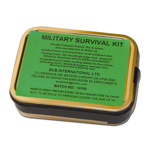 MILITARY Survival Kit BCB