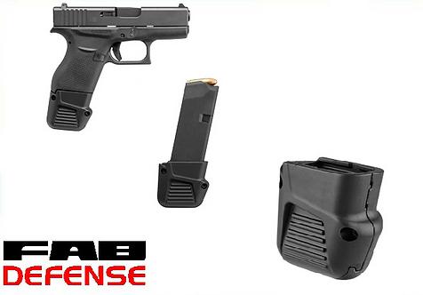 Extension de chargeur Glock 43 Fab Defense