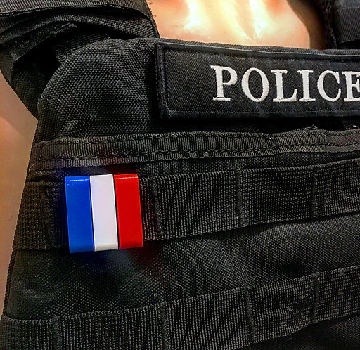 Drapeau France pour système MOLLE