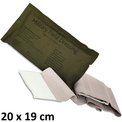 Pansement Compressif BCB Military Field Dressing Traumafix 20x19cm