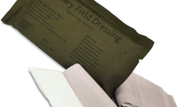 Pansement Compressif BCB Military Field Dressing Traumafix 20x19cm