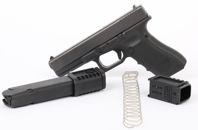 Extension chargeur CAA +10 Glock 19