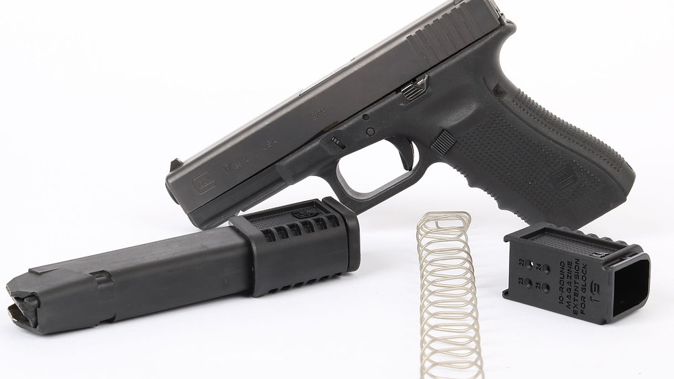 Extension chargeur CAA +10 Glock 17