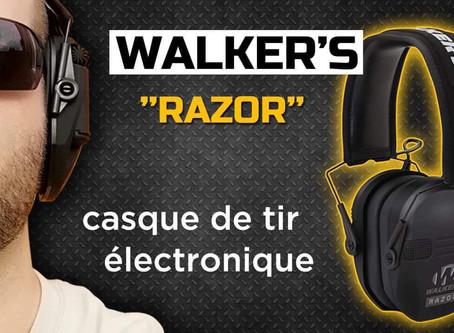 Casque électronique WALKER'S RAZOR