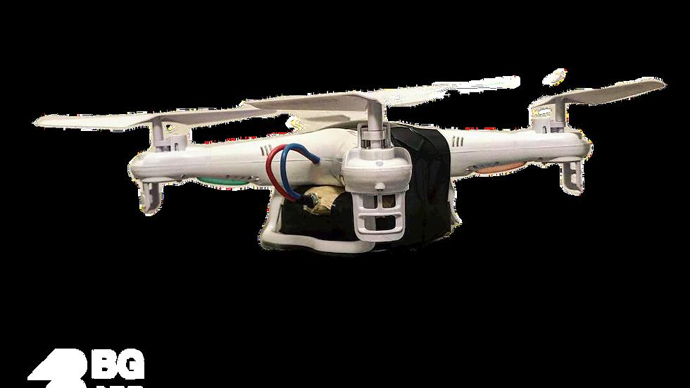 Drone aérien piégé inerte