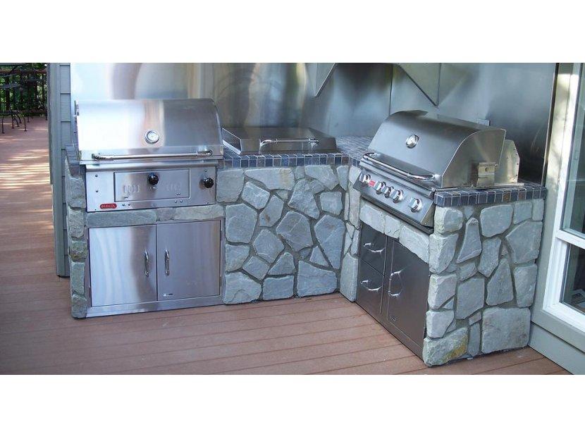 cuisine_extérieur_barbeucue_gaz_et_barbeucue_charbon