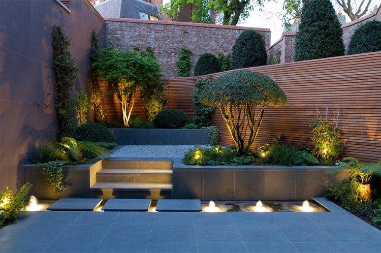 clôture-bois-moderne-terrasse-carrelage-gris