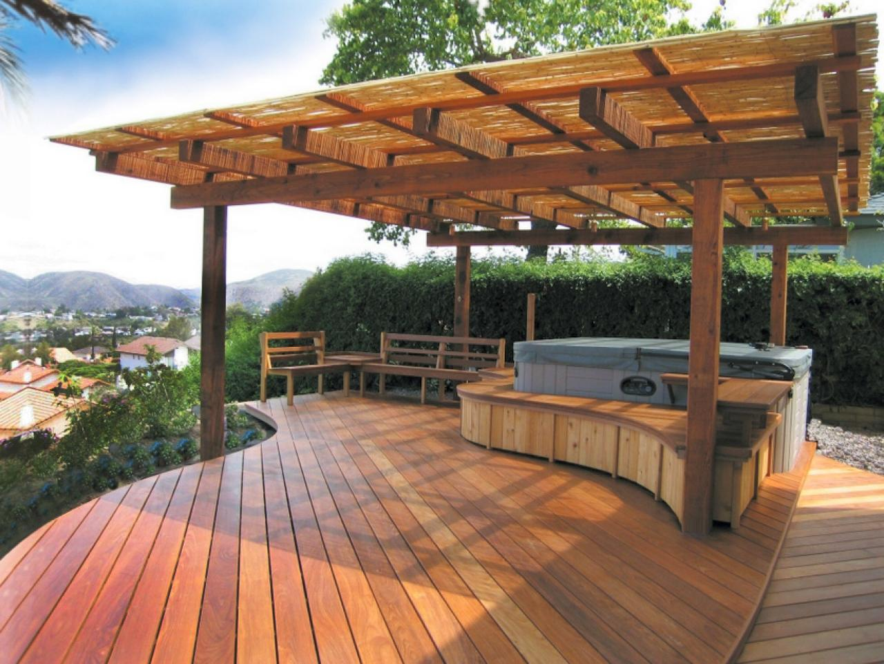 display spa terrasse
