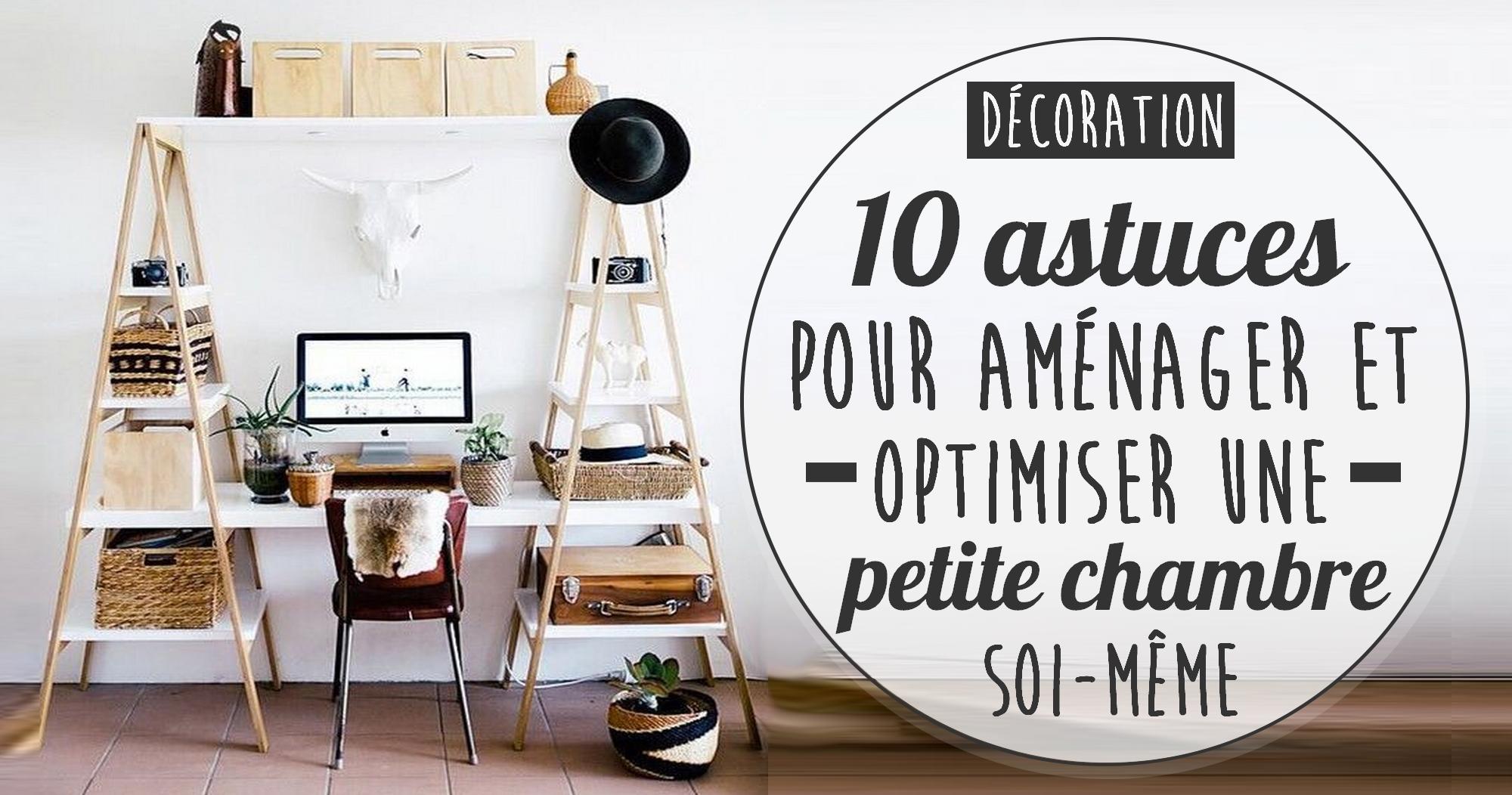 10 astuces pour aménager et gagner de l'espace dans une petite