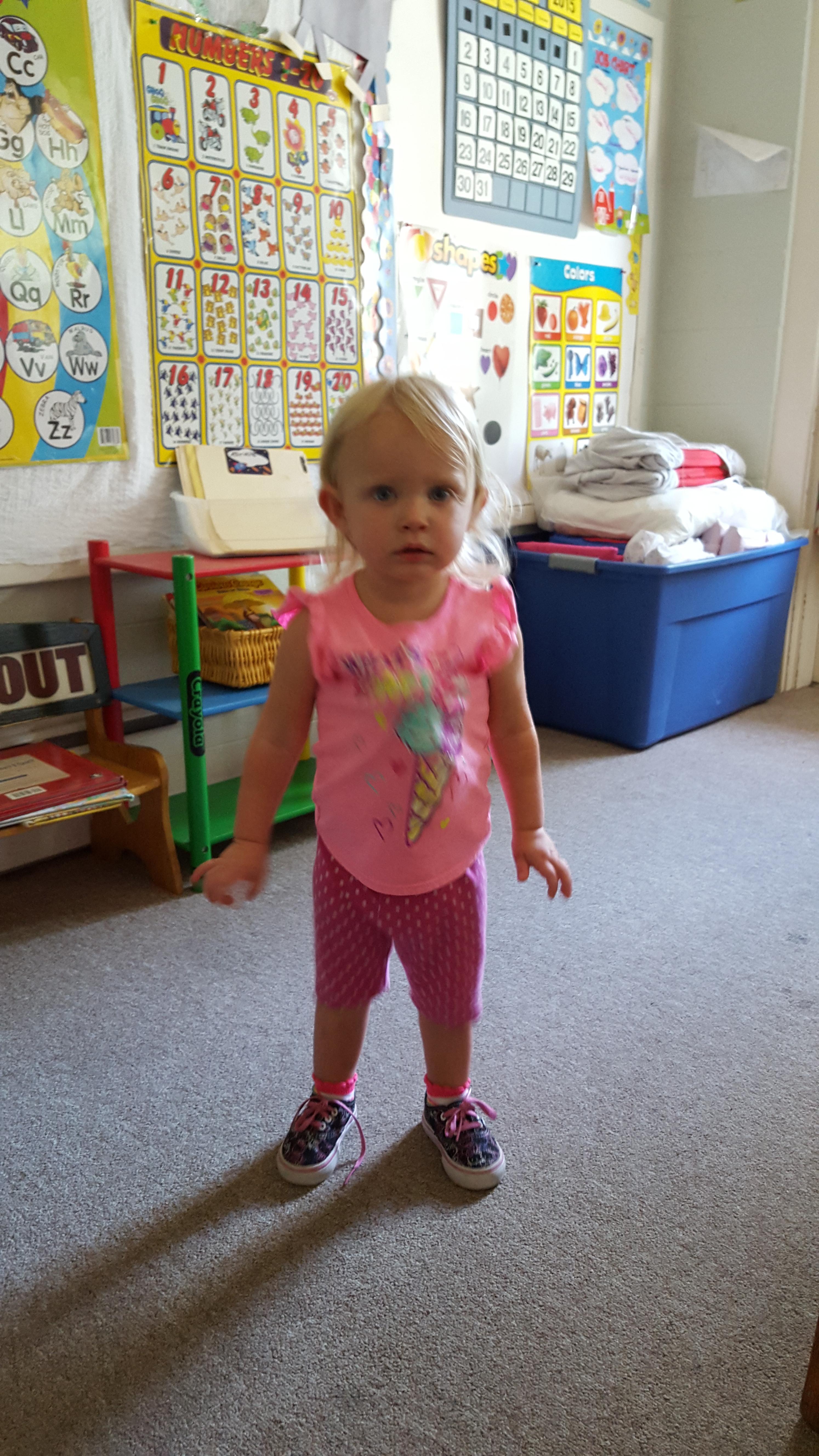 Dancing in Toddler Room!