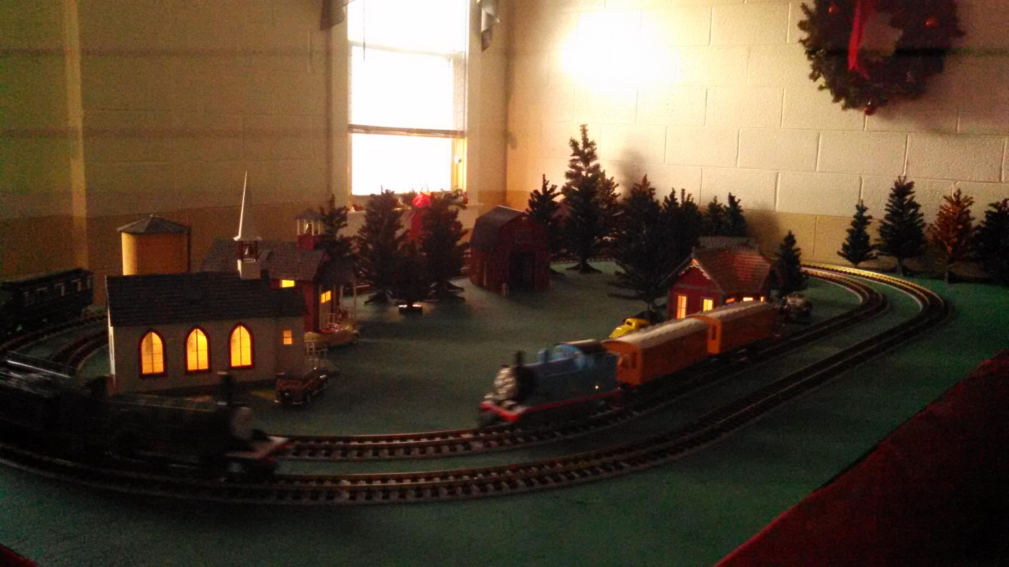 Christmas Train Display Fieldtrip