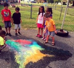 Exploding Chalk Paint