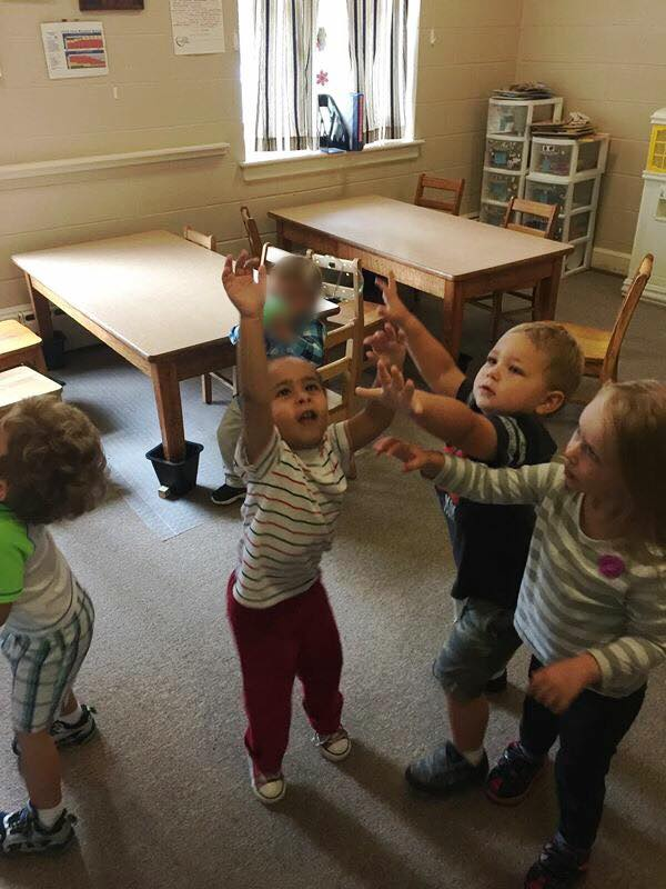 Bubble Time in 2's & 3's Class!
