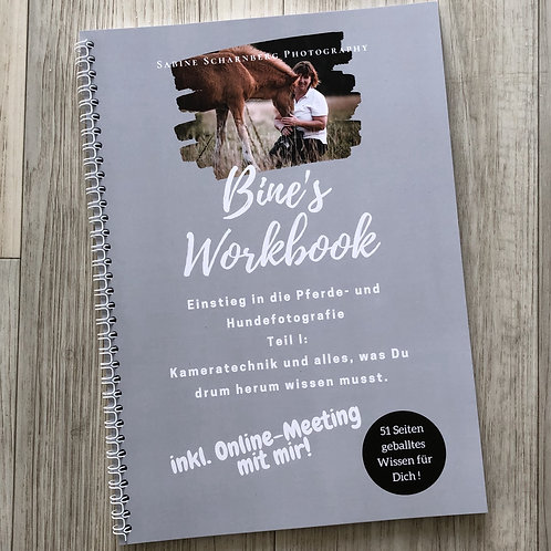 Entry into horse and dog photography: camera technology (Workbook I)