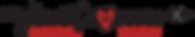 HeartCrossers logo small red heart black