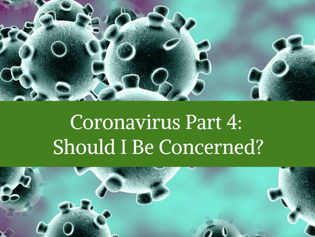 Coronavirus Part 4: Should I Be Concerned?