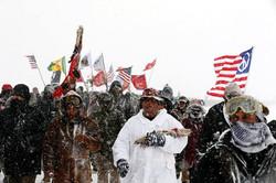 Standing Rock Veterans March