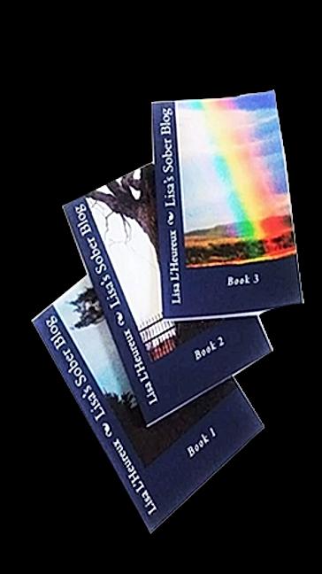 Lisa's Sober Blog Books Gift Pack